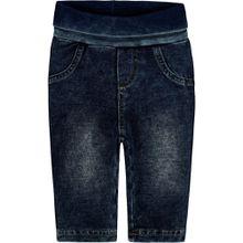Steiff Jeans mit Umschlagbund - Used-Look
