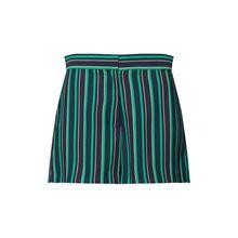VILA Hose STRATELLA Shorts grün Damen