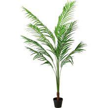 Künstliche Palme im Topf H170 cm grün