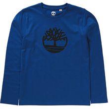 Langarmshirt , Oragnic Cotton hellblau Jungen Kinder