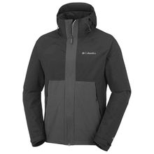 Columbia Jacke Evolution Valley Outdoorjacken schwarz Herren