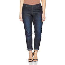 Ulla Popken Große Größen Damen Skinny Jeans Jeggings Denim K m.Gürtelschlaufen Blau (Fashion Denim 94), 54 (Herstellergröße: 27)