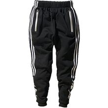 Minetom Herren Casual Hoodie Trousers Jungen Hippie Jogginghose Freizeit Skinny Hose mit Aufdruck Pullover Hip Hop Streetwear Sweatshirt Trousers01 EU L
