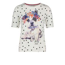 Betty Barclay Halbarm-Shirt mit Aufdruck weiß Damen