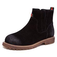 Fangsto  Boots,  Mädchen Damen Chelsea Boots , mehrfarbig - schwarz - Größe: 39