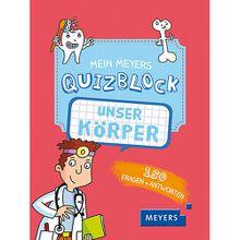 Buch - Mein Meyers Quizblock: Unser Körper