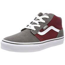 Vans Unisex-Kinder Chapman Mid Sneaker, Rot (Suede/Canvas), 37 EU