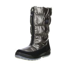 Vista Damen Winterstiefel Snowboots anthrazit/silber/metallic anthrazit Damen