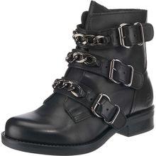 BULLBOXER Biker Boots schwarz Damen