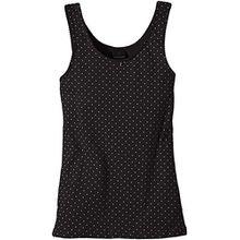 Schiesser Mädchen Unterhemd Top, Gr. 176, Schwarz (schwarz 000)