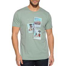 Mishumo T-Shirt in grün für Herren