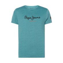 Regular Fit T-Shirt mit Logo-Print Modell 'Wilmer'