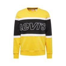 LEVI'S Sweatshirt gelb / schwarz