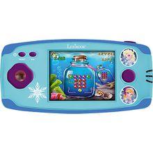 Die Eiskönigin LCD-Spielekonsole mit 150 Spielen hellblau