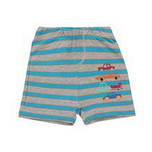 Baby-Jungen Shorts, LC WAIKIKI Baby-Jungen Shorts , Blau Grau, in Größe 62/68