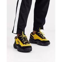 Fila – Provenance – Sneaker in Schwarz/Gelb