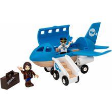 BRIO® Spielzeug-Flugzeug »Brio WORLD Blaues Flugzeug«