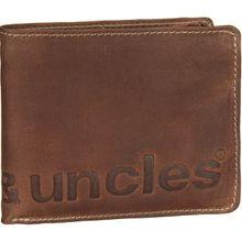 aunts & uncles Geldbörse Matt Vintage Tan Vintage Tan Logo