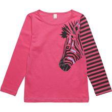 ESPRIT Langarmshirt pink / schwarz