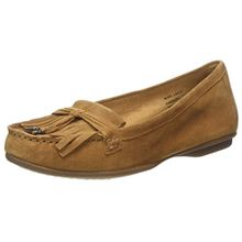 Hush Puppies Damen Naveen Robyn Slipper, Braun (Camel), 41 EU