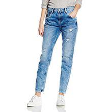 Pepe Jeans Damen, Karotte, Jeans, VAGABOND, GR. W30 (Herstellergröße: W30), Blau (denim)