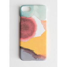 Watercolour Splash iPhone Case - Red