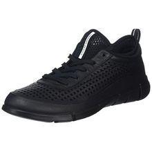 Ecco Damen Intrinsic 1 Sneaker, Schwarz (51052BLACK/Black), 38 EU