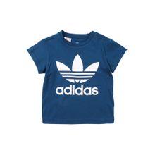 ADIDAS ORIGINALS T-Shirt 'TREFOIL' navy / weiß