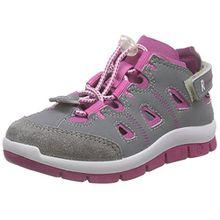 Ricosta Frem, Jungen Sneakers, Grau (Graphit/Magenta 452), 31 EU (12 Kinder UK)