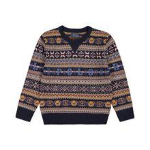 Polo Ralph Lauren Jungen-Pullover - Blau (2T, 3T, 4T, 5, 6, 7, L, M, S, XL)