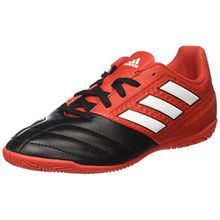 adidas Unisex-Kinder Ace 17.4 in Stiefel, Rot (Red/FTWR White/Core Black), 37 1/3 EU