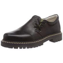 Richter Kinderschuhe Haferl, Jungen Sneakers, Schwarz (Black/Dark Olive 9901), 34 EU