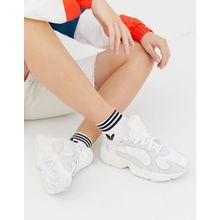 adidas Originals - Yung'1 - Sneaker in gebrochenem Weiß - Weiß