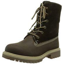 Dockers by Gerli 358400-071010 Unisex-Kinder Combat Boots, Braun (chocolate 010), 33 EU (1 Kinder UK)