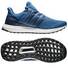 adidas Unisex-Kinder Ultraboost J Sneaker, Blau (Blu Azubas/Azumis/Negbas), 40 EU