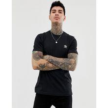Adidas Originals - Essentials - Schwarzes T-Shirt, DV1577 - Schwarz