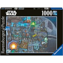 Puzzle 1000 Teile, 70x50 cm, Star Wars Where´s Wookie