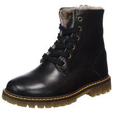 Bisgaard Unisex-Kinder Springerstiefel Combat Boots, Schwarz (204 Black), 36 EU