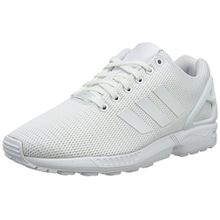 adidas ZX Flux, Unisex-Erwachsene Sneakers, Footwear White/Clear Grey, 40 2/3 EU