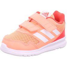 adidas Baby Mädchen AltaRun Cloudfoam Sneaker, Orange (Chacor/Ftwwht/Reacor), 27 EU