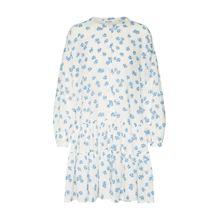 EDITED Kleid 'Dorisa' blau / weiß