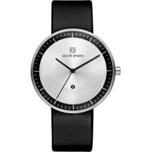 JACOB JENSEN Uhr schwarz / silber