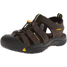 Keen Unisex-Kinder Newport Premium Trekking-& Wandersandalen, Braun (Dark Brown), 36 EU