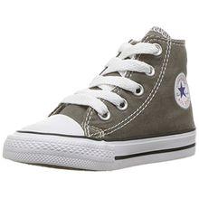 Converse Chuck Taylor All Star Season Hi,Unisex - Kinder Sneaker, Grau (Charcoal), 33 EU