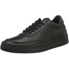 BULLBOXER Damen Sneakers Sneaker, Schwarz (Black), 39 EU