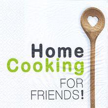 Servietten, Ideal für Zuhause Home Cooking Kochen, Backen und Speisen. 33x 33cm