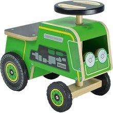 kiddimoto Rider Kleiner grüner Traktor