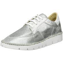 Bronx Damen BX 1246 Bstitchx Sneaker, Silber (Silver), 37 EU