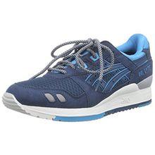 Asics Gel-Lyte Iii, Unisex-Erwachsene Sneakers, Blau (Legion Blue/Legion Blue 4545), 40.5 EU