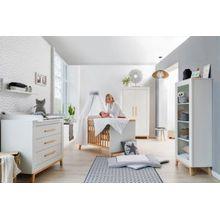 Schardt Kinderzimmer Miami White mit 2 türigem Kleiderschrank